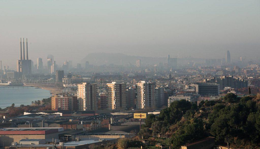 contaminación barcelona